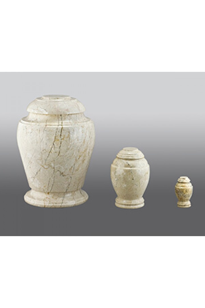 Crème Travertine + $49 Token or +$109 Youth Urn